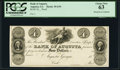 Obsoletes By State:Georgia, Augusta, GA- Bank of Augusta $4 18__ G54 Proof PCGS Choice New 63.. ...