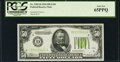 Small Size:Federal Reserve Notes, Fr. 2102-D $50 1934 Light Green Seal Federal Reserve Note. PCGS Gem New 65PPQ.. ...