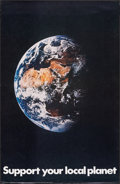 """Movie Posters:Miscellaneous, Support Your Local Planet (Pandora Productions, 1970). Rolled, Very Fine. Poster (22"""" X 34"""") Harold M. Lambert Photography. ..."""