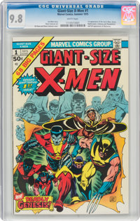 Giant-Size X-Men #1 (Marvel, 1975) CGC NM/MT 9.8 White pages