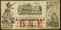 Obsoletes By State:Louisiana, New Orleans, LA- D. J. Hockersmith & Co. $1 ND (ca. early 1862) Fine.. ...