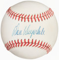 Autographs:Baseballs, Don Drysdale Single Signed Baseball. Offered is t...