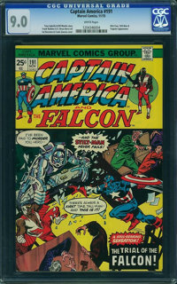 Captain America #191 - WESTPORT COLLECTION (Marvel, 1975) CGC VF/NM 9.0 White pages