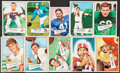 Football Cards:Lots, 1951-55 Topps and Bowman Football Collection (186) With Stars. ...