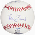 Autographs:Baseballs, Barry Bonds, Alex Rodriguez Dual-Signed Baseball. ...