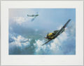 """Autographs:Others, """"The Straggler"""" Signed Print. Offered is a signed..."""