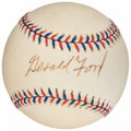 Autographs:Baseballs, President Gerald Ford Signed 1997 All-Star Game Ball. ...