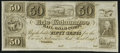 Obsoletes By State:Ohio, Toledo, OH- Erie and Kalamazoo Rail Road Company 50¢ 18__ Remainder Crisp Uncirculated.. ...
