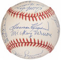 Autographs:Baseballs, Washington Senators Multi-Signed Baseball. Offere...