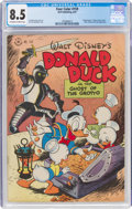 Four Color #159 Donald Duck (Dell, 1947) CGC VF+ 8.5 Off-white to white pages