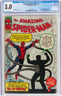 The Amazing Spider-Man #3 (Marvel, 1963) CGC GD/VG 3.0 Off-white pages