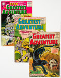 Golden Age (1938-1955):Adventure, My Greatest Adventure #2, 5, and 10 Group (DC, 1955-56) Condition: Average VG.... (Total: 3 Comic Books)