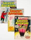 Silver Age (1956-1969):Adventure, My Greatest Adventure Group of 9 (DC, 1956-58) Condition: Average VG.... (Total: 9 Comic Books)