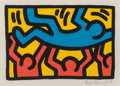 Prints & Multiples, Keith Haring (1958-1990). Untitled, 1987. Lithograph in colors on Rives BFK paper. 8-1/4 x 12-1/8 inches (21 x 30.8 cm) ...