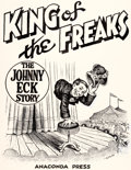Original Comic Art:Covers, Robert Crumb King of the Freaks - The Johnny Eck Story Unused Cover Illustration Original Art (Anaconda Press, 198...