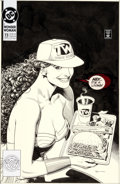 Original Comic Art:Covers, Brian Bolland Wonder Woman #73 Cover Original Art (DC, 1993)....