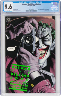Batman: The Killing Joke #nn (DC, 1988) CGC NM+ 9.6 White pages