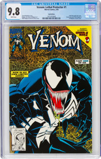 Venom: Lethal Protector #1 Gold Edition (Marvel, 1993) CGC NM/MT 9.8 White pages