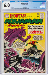 Showcase #30 Aquaman (DC, 1961) CGC FN 6.0 Off-white pages