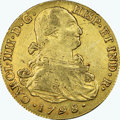Colombia, Colombia: Charles IV gold 8 Escudos 1798 P-JF XF45 NGC,...