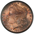 1882-S $1 MS67 PCGS. PCGS Population: (1083/75 and 168/11+). NGC Census: (1763/125 and 77/6+). CDN: $485 Whsle. Bid for...