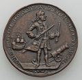 Betts Medals, 1739 Medal Admiral Vernon, Porto Bello, Uncertified. Betts-238, Adams-Chao-PBvi-11-P, R.6....