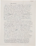 Autographs:Inventors, Albert Einstein Autograph Letter Signed...