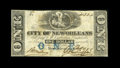 Obsoletes By State:Louisiana, New Orleans, LA- City of New Orleans $1 Oct. 1, 1861 . ...