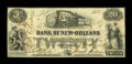 Obsoletes By State:Louisiana, New Orleans, LA- Bank of New Orleans $20 March 1, 1858 G6b. ...