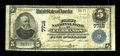 National Bank Notes:Alaska, Fairbanks, AK - $5 1902 Plain Back Fr. 598 First NB Ch. # 7718. ...