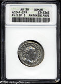 Ancients:Roman, Roman, Philip I Antoninianus, A.D. 244-249, AU50 ANACS....