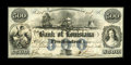 Obsoletes By State:Louisiana, New Orleans, LA- Bank of Louisiana $500 May 22, 1862 G30a. ...