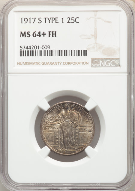 1917-S Type One, FH NGC Plus 64 NGC