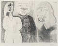 Prints & Multiples, Pablo Picasso (1881-1973). Pl. 132, from Séries 156, 1971. Etching on wove paper, printed 1978. 14-3/8 x 19-1/4 inch...