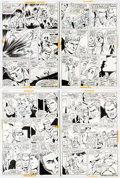 Original Comic Art:Panel Pages, Dick Ayers and Vince Colletta Combat Kelly #6 Partial Story Original Art Group of 12 (Marvel, 1973).... (Total: 12 Original Art)