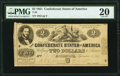 T38 $2 1861 PF-1 Cr. 286 PMG Very Fine 20