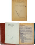 Works on Paper, Frank Lloyd Wright (American, 1867-1959). Specification Folder and Drawings for the Mr. and Mrs. Randall Fawcett Ranch Hou...
