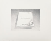 Ed Ruscha (b. 1937) Nine Swimming Pools, from the Book Covers series, 1970 Lithograph on