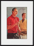 Autographs:Photos, Gil Hodges Signed & Framed Picture. ...