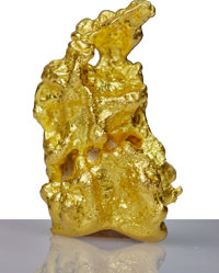Large Gold Nugget, 104.8 grams