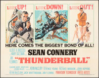 "Thunderball (United Artists, 1965). Fine+ on Paper. Half Sheet (22"" X 28""). Frank McCarthy and Robert McGinnis..."