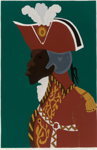 Jacob Lawrence (1917-2000) L'Ouverture, from Toussaint l'ouverture, 1986 Screenprint in c