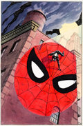 Original Comic Art:Covers, Charles Vess Web of Spider-Man Annual #2 Cover Original Art (Marvel Comics, 1986)....