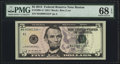 Small Size:Federal Reserve Notes, Fr. 1996-A* $5 2013 Federal Reserve Star Note PMG Superb Gem Unc 68 EPQ.. ...