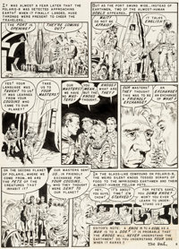 Wally Wood Weird Science #12 Story Page 8 Original Art (EC, 1952)