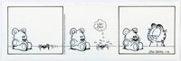 Jim Davis Garfield Daily Comic Strip Original Art dated 1-14-97 (PAWS/Universal Press Syndicate, 1997)
