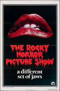 """The Rocky Horror Picture Show (20th Century Fox, 1975). Folded, Very Fine-. One Sheet (27"""" X 41"""") Style A. Roc..."""