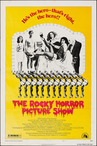 """The Rocky Horror Picture Show (20th Century Fox, 1975). Folded, Fine. One Sheet (27"""" X 41"""") Style B. Rock and..."""