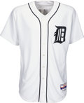 Baseball Collectibles:Uniforms, 2007 Justin Verlander Game Worn Detroit Tigers Jersey - Used 9-21 vs. Royals MLB Authentic. ...