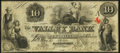 Obsoletes By State:Maryland, Hagerstown, MD- Valley Bank of Maryland $10 Jan. 31, 1855 Very Fine-Extremely Fine.. ...